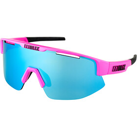 Bliz Matrix M12 Glasses shiny pink/brown with blue multi